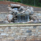 Waterfall atlanta-inground-pool-contractor